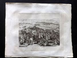 Field of Mars 1801 Antique Print. Battle of Cassano, Italy